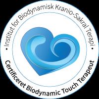 Certificeret Biodynamic Touch Terapeut hos Instituttet for Biodynamisk Kranio-Sakral Terapi